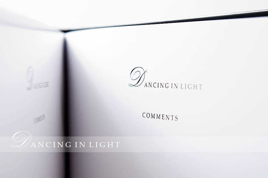 Dancing in Light catalogue page